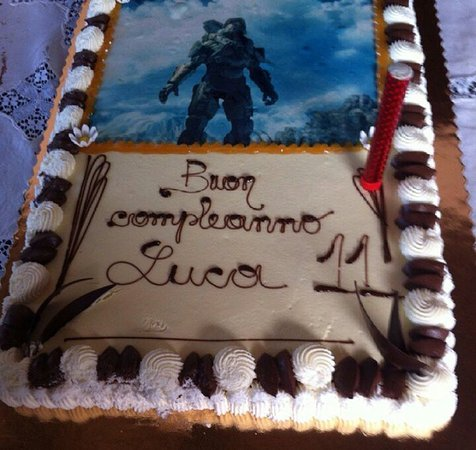 Buon compleanno Luca!   Foto di Pasticceria Santi   Caffetteria