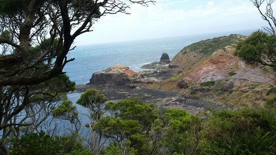 Cape Schanck, Australia: Scenic views along the trail