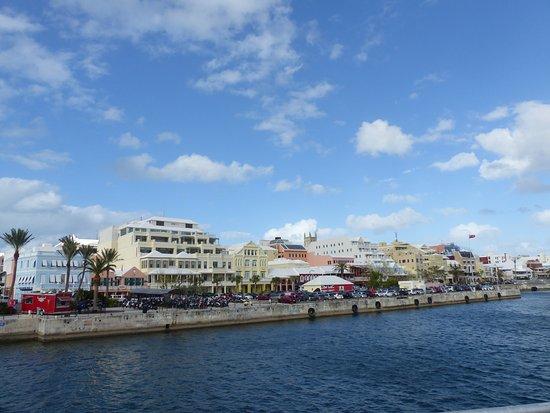 Приход Сэндис, Бермуды: View from the Ferry to Docyards