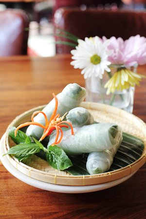 Healthy Made To Order Basil Rolls Picture Of 26 Thai