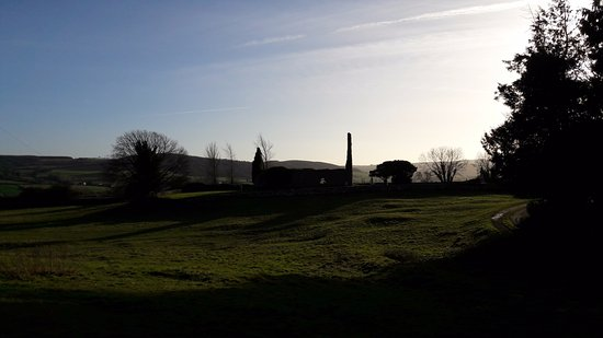 Freshford, Irlandia: View from the gate