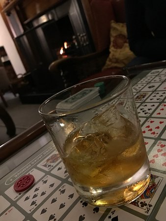 The Lovat, Loch Ness: A 'Godfather' by the fire...
