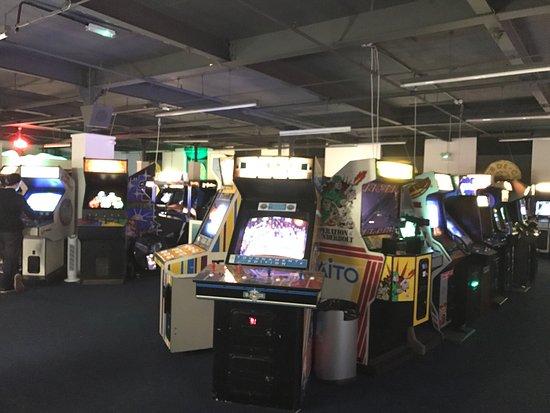 Bury, UK: Arcade games at the Arcade Club