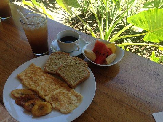 Cocles, Costa Rica: Danke Luis - jeden Tag Frühstück vom Feinsten