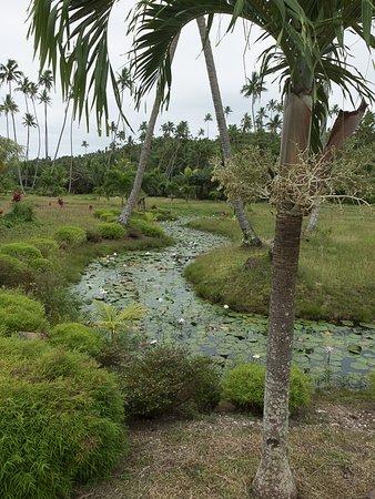 SigaSiga Sands Resort: Near the entrance to SigaSiga Sands
