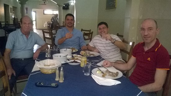 Zorba le Grec: in a Greek restaurant, with Greek friends... Where else?