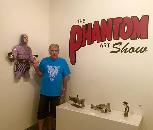 Murwillumbah, Australia: the phantom display