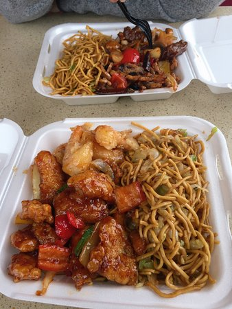 American Fork, UT: The food me and my husband ordered. They were delicious.