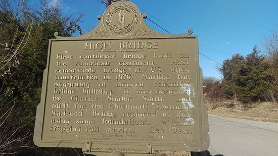 Wilmore, KY: High Bridge Interpretive Sign