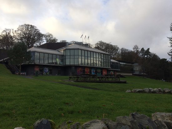 Pitlochry Festival Theatre : The Festival Theater of Pitlochry.