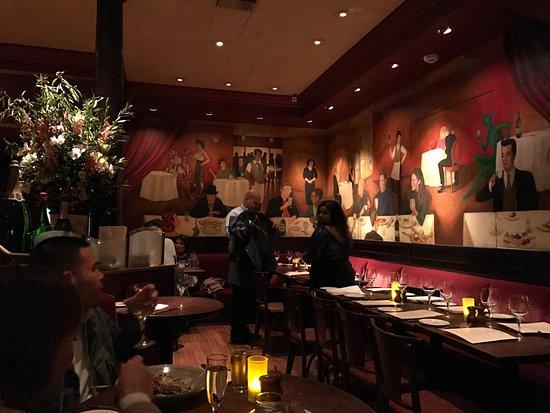 Absinthe Brasserie & Bar: Main dining room of Absinthe