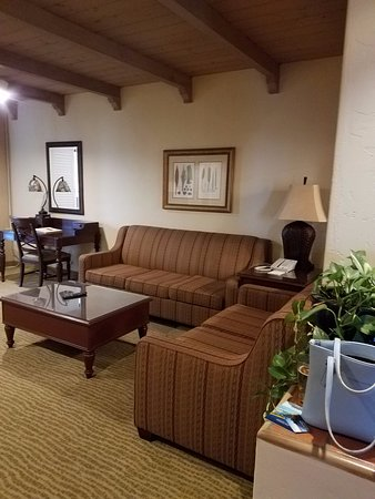 Bahia Resort Hotel: Living Room - Marina Suite