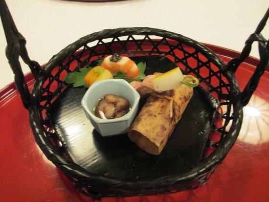 Awara, Giappone: 夜はカニコース
