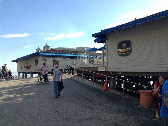 The Fisherman's Restaurant and Bar: restaurant signage