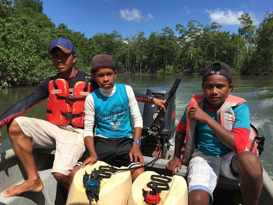 Bird Coiba - Birding Tours : Our trusty crew