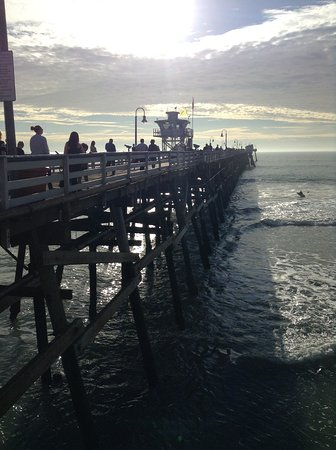 The Fisherman's Restaurant and Bar: pier view from table