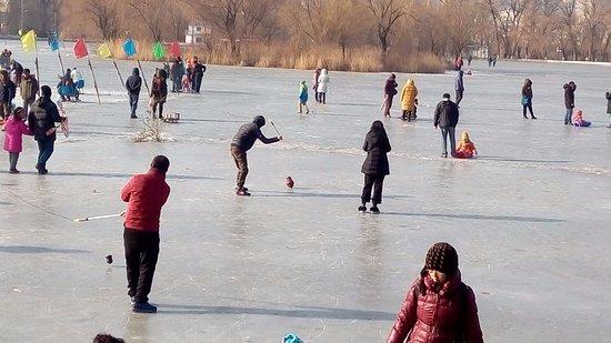 Anshan, China: jeziora i