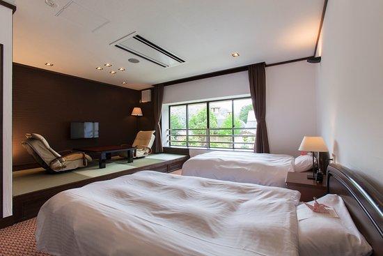 Hotel Silk Spa Yamabiko: プレ三ミアム和洋室