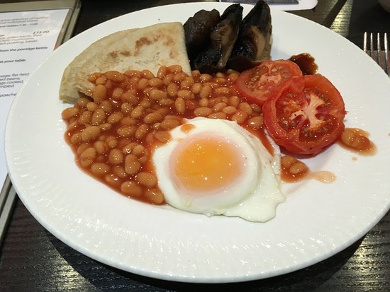 Lancaster House: Cooked breakfast