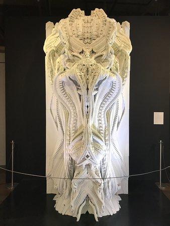 Design Exchange : Exposição temporária de um elemento arquitetônico desenvolvido por impressão 3D
