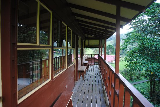 Terra Viva: the main lodge cabin