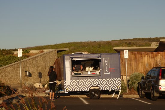Prevelly, Australia: 'Mala' - the dumpling food truck