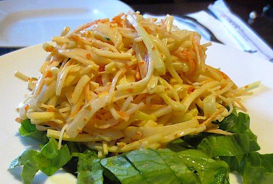 Pittsfield, MA: Kani salad
