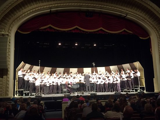 The Grand Theater : WI State Men's Choir