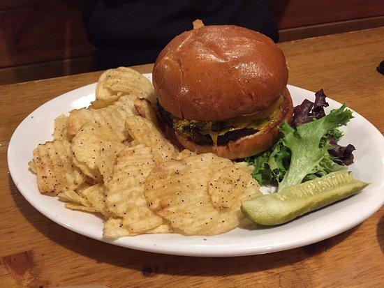 Stevenson, Etat de Washington : Pub Burger