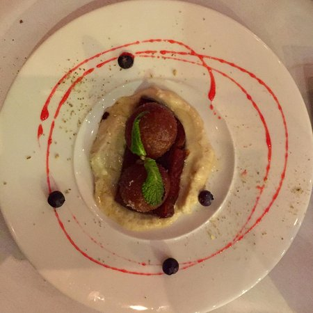 The Host: The decadent Gulab Jamun dessert is very rich and definitely one to share