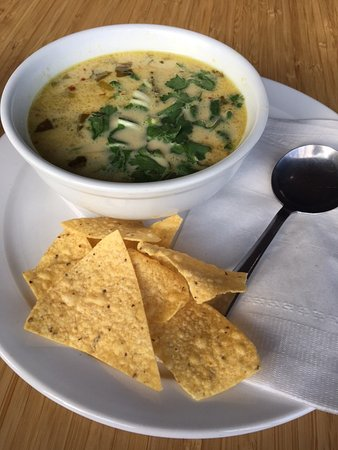 Lola's Coffee Shop: Organic Thai Soup with Curry
