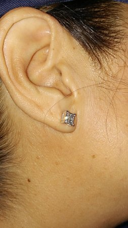 Princess Cut Diamond Earrings Wife Loves Them These Were