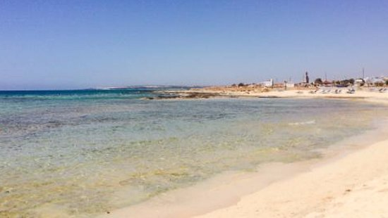 Ayia Thekla Beach: The beach of Ayia Thekla