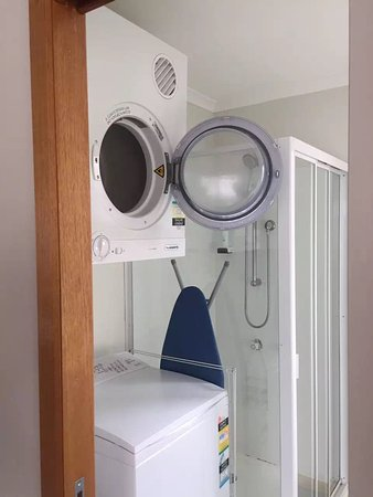 Risdon, Australia: The washing machine and dryer come in very handy
