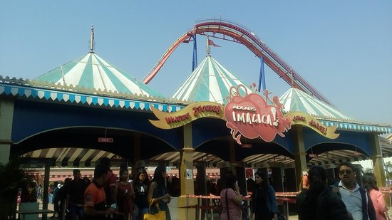 Imagica Theme Park: Entry