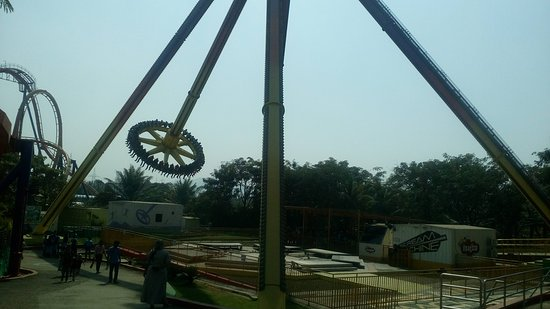 Imagica Theme Park: Scream Machine
