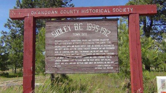 Oroville, WA: Sidley, BC (Canada) near Old Molson, WA (USA)
