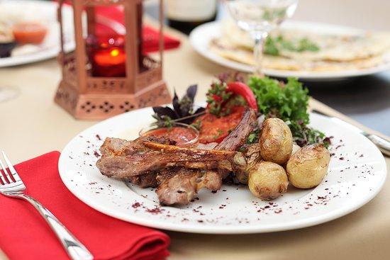 Azerbaijani cuisine main course mix sadj with lamb beef for Azerbaijani cuisine