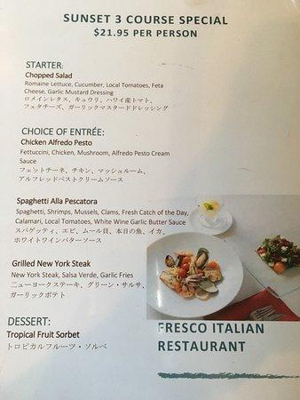 Photo6 Jpg Picture Of Fresco Italian Restaurant Honolulu