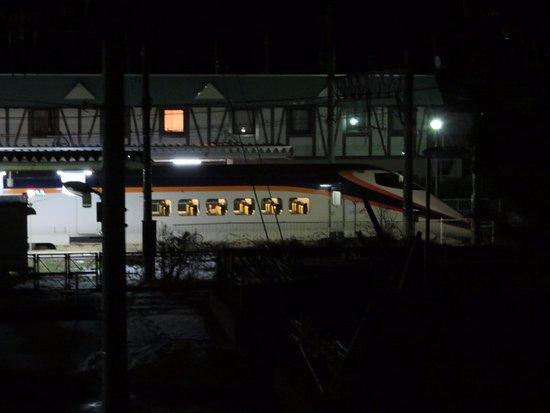 Takahata-machi, Japan: 山形新幹線をみれますよ
