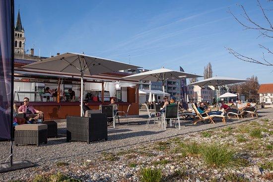 Romanshorn, Schweiz: Gemütlichkeit