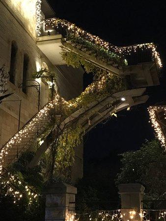 The American Colony Hotel: Atmosfera natalizia