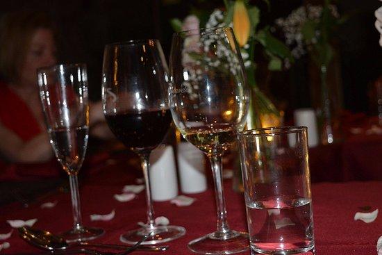 Glendevon, UK: great wine list too