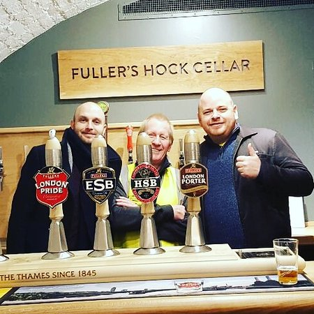Fuller's Griffin Brewery Tour
