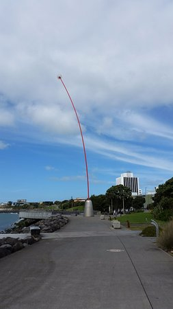 New Plymouth, New Zealand: the Wind Wand