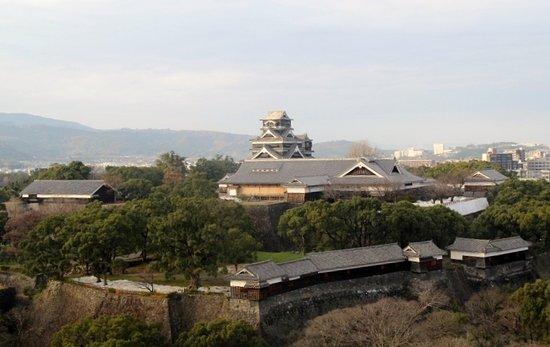 Kumamoto City Hall, Large Hall Floor
