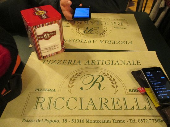 Ricciarelli: Great serving