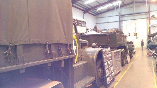 Rotherham, UK: Army trucks