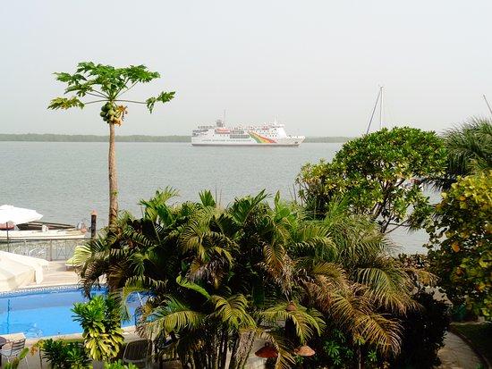Ziguinchor, Σενεγάλη: Chambre face au fleuve Casamance
