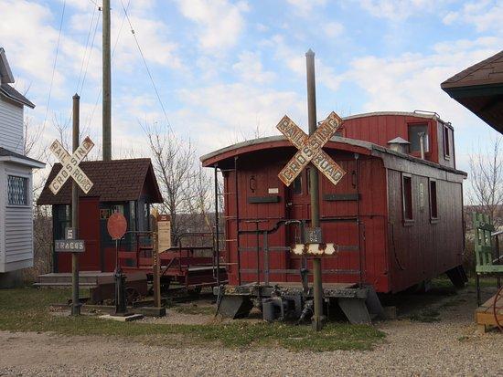 Τζέιμσταουν, Βόρεια Ντακότα: Train Memorabilia